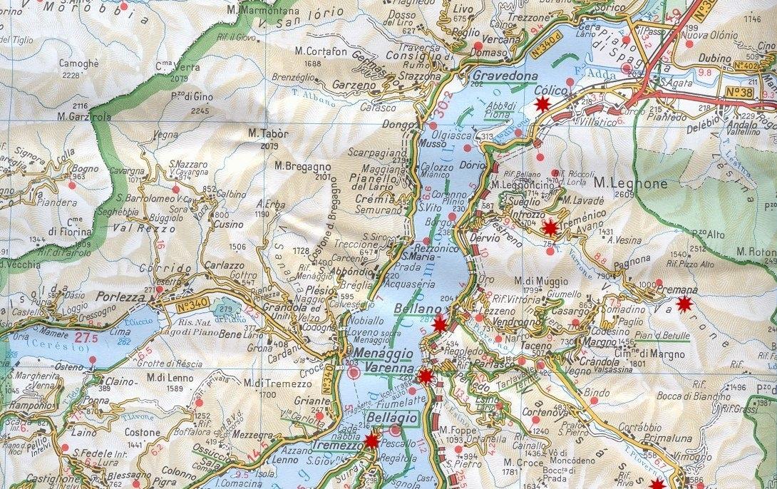 Cartina for Mappa della costruzione di casa