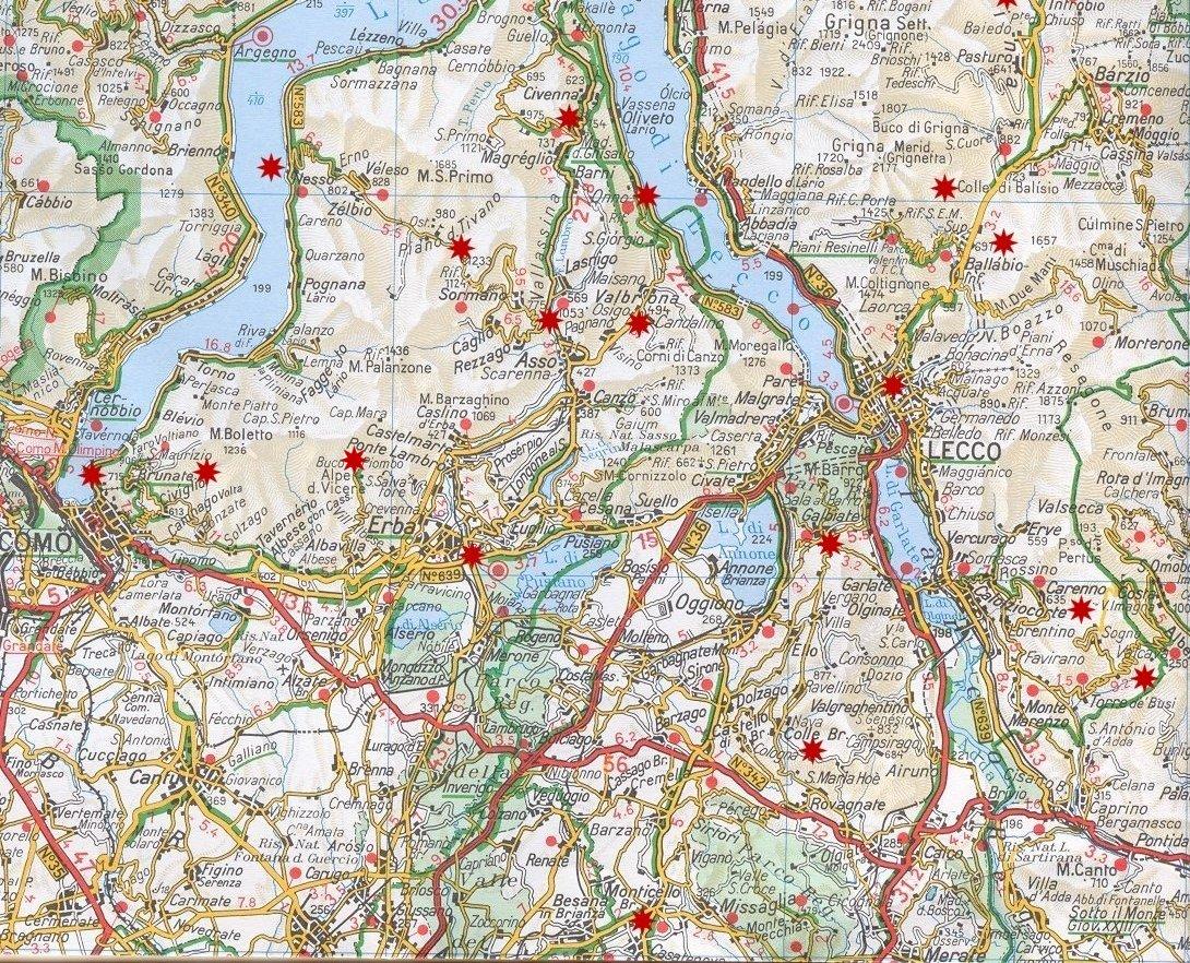 Cartina Geografica Della Brianza.Cartina